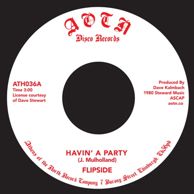 """Flipside/HAVIN' A PARTY 7"""""""