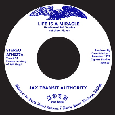 """Jax Transit Authority/LIFE IS A... 7"""""""