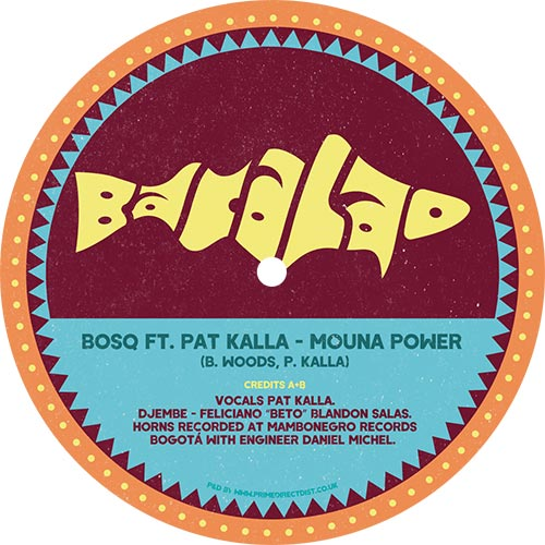 Bosq ft. Pat Kalla/MOUNA POWER 12""