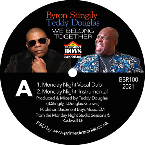 Byron Stingily/WE BELONG TOGETHER 12""
