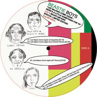 "Beastie Boys/LEE MAJORS... REMIX 12"""