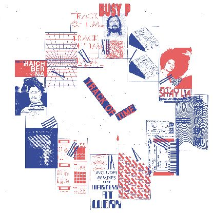 """Busy P/TRACK OF TIME (MAW REMIXES) D12"""""""