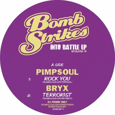 "Various/INTO BATTLE EP VOL. 4 12"""
