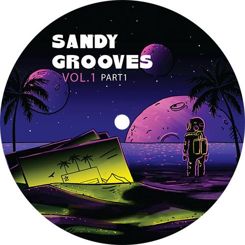 "Various/SANDY GROOVES VOL 1 PT 1 12"""