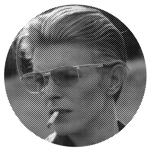 David Bowie/GLOW IN THE DARK SLIPMAT