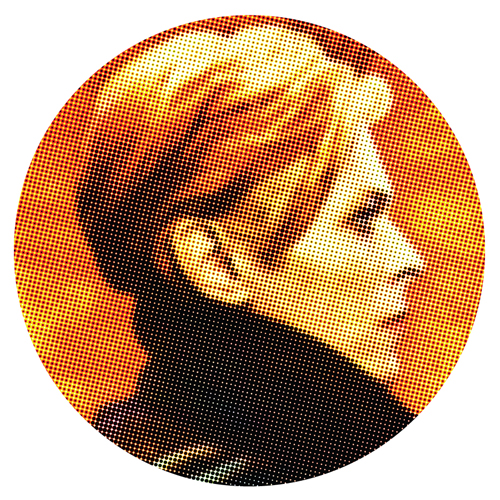 David Bowie/BOWIE LOW DOT SLIPMAT