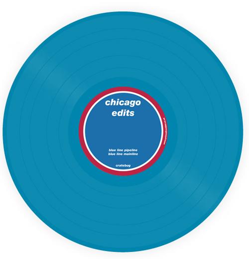 "Cratebug/CHICAGO: BLUE LINE EDITS 12"""