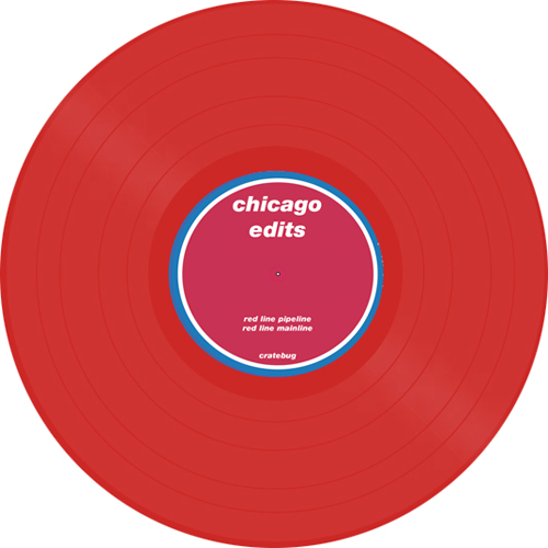 Cratebug/CHICAGO: RED LINE EDITS 12""