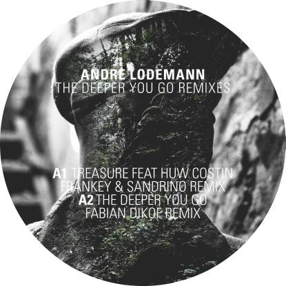 "Andre Lodemann/THE DEEPER YOU GO RMX 12"""