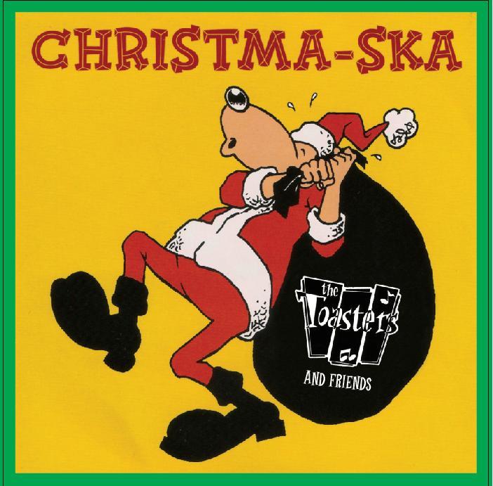 Toasters/CHRISTMA-SKA LP