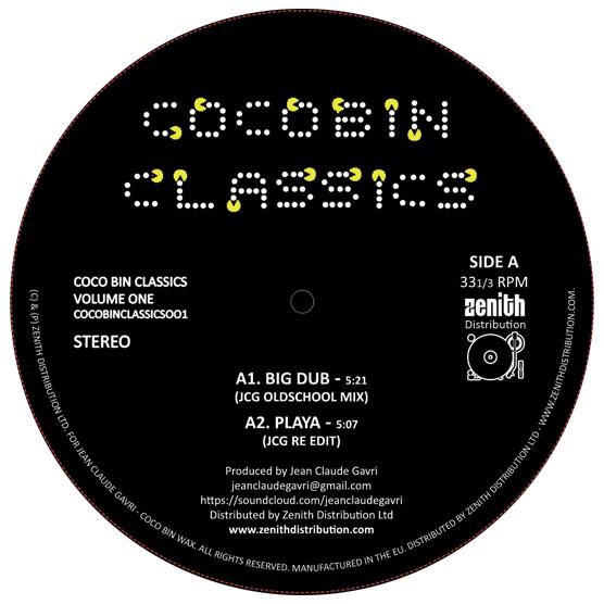 """Jean Claude Gavri/COCOBIN CLASSICS#1 12"""""""