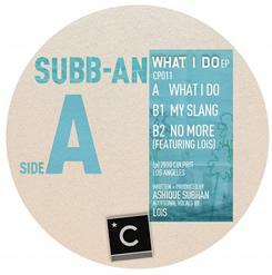 """Subb-An/WHAT I DO 12"""""""