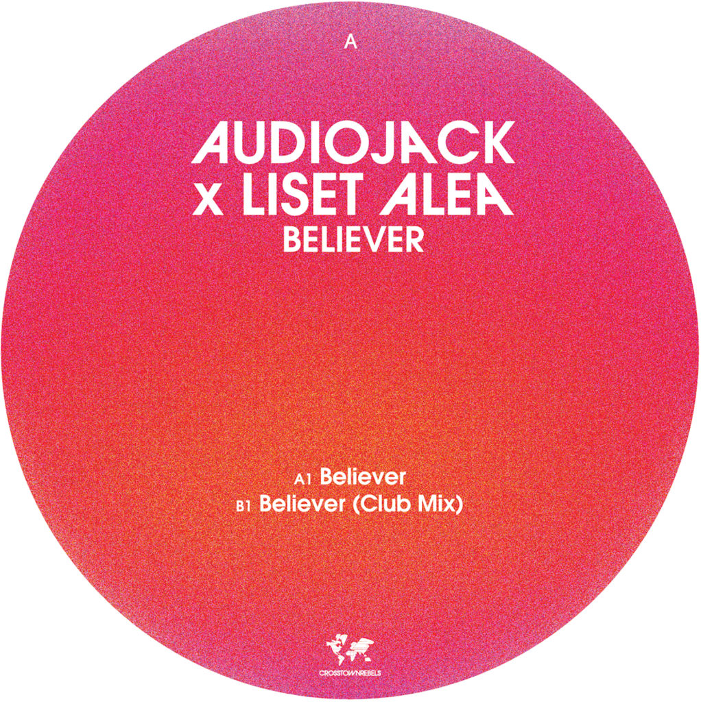 "Audiojack/BELIEVER 12"""