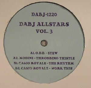 """Various/DABJ ALLSTARS VOL. 3 12"""""""