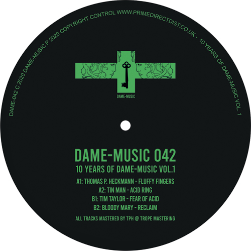 Various/10 YEARS OF DAME-MUSIC VOL 1 12""