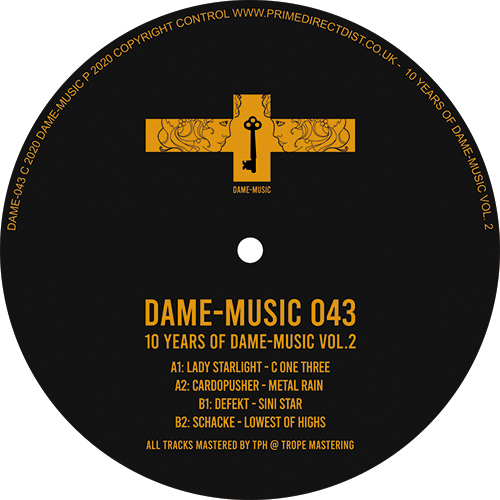 """Various/10 YEARS OF DAME-MUSIC VOL 2 12"""""""