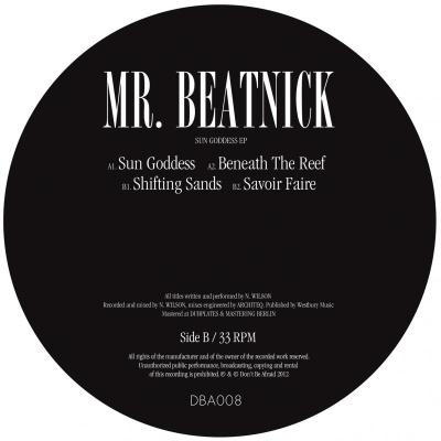 "Mr. Beatnick/SUN GODDESS EP 12"""