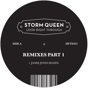 "Storm Queen/LOOK RIGHT THROUGH RMX 1 12"""