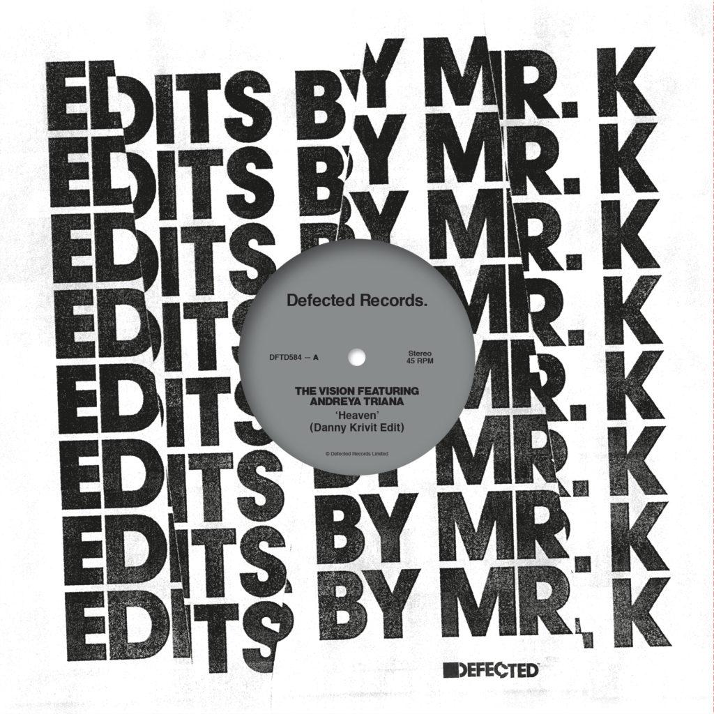 """Danny Krivit/EDITS BY MR. K 12"""""""