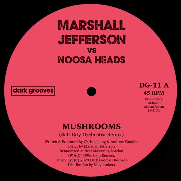 "Marshall Jefferson/MUSHROOMS 12"""