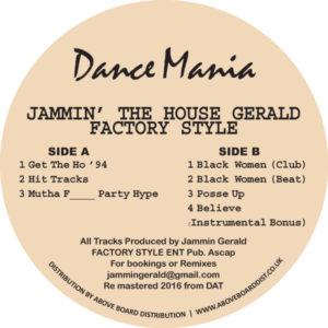 "Jammin' Gerald/FACTORY STYLE 12"""