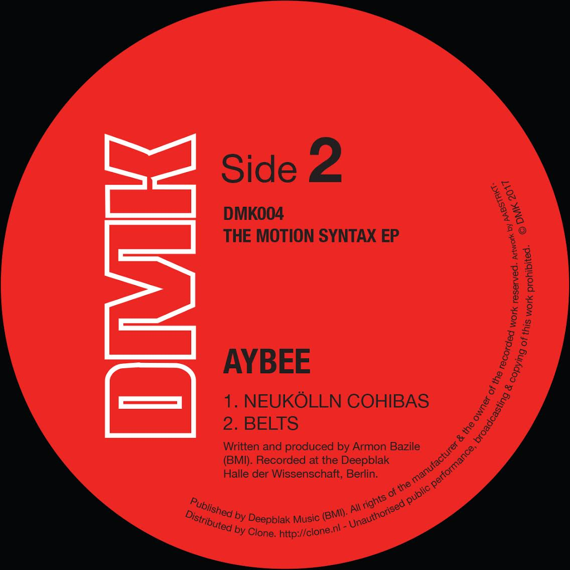 Aybee/THE MOTION SYNTAX EP 12""