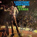 Lightnin' Hopkins/LIGHTNIN' ON STAGE LP