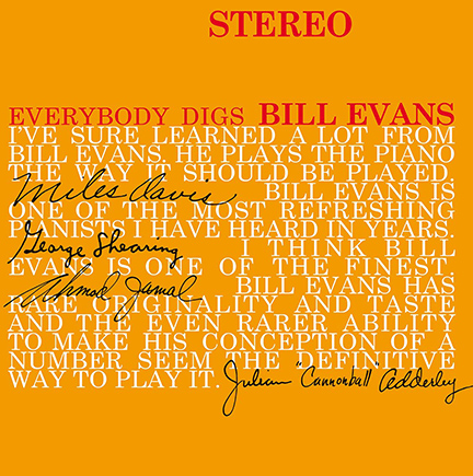 Bill Evans/EVERYBODY DIGS BILL (180g) LP