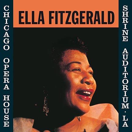 Ella Fitzgerald/AT THE OPERA HOUSE LP