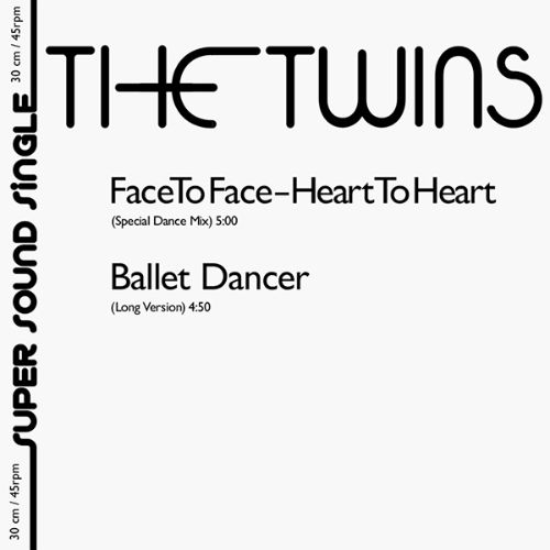 """Twins, The/FACE TO FACE 12"""""""