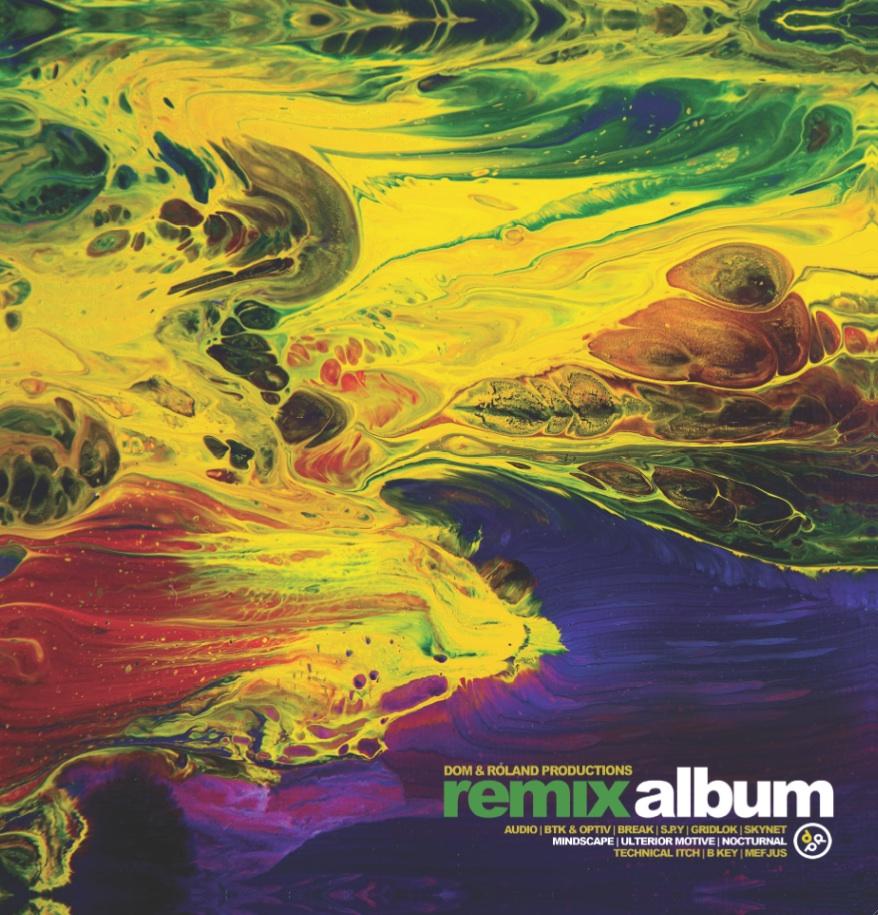 Dom & Roland/REMIX ALBUM DLP + CD
