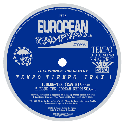 "Telephones/TEMPO TIEMPO TRAX 1 12"""