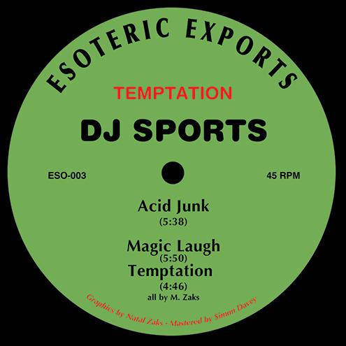 "DJ Sports/TEMPTATION EP 12"""