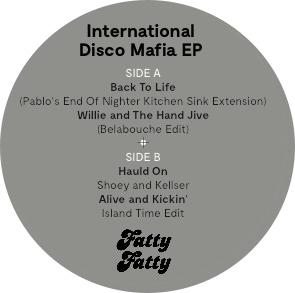 """Various/INTERNATIONAL DISCO MAFIA EP 12"""""""