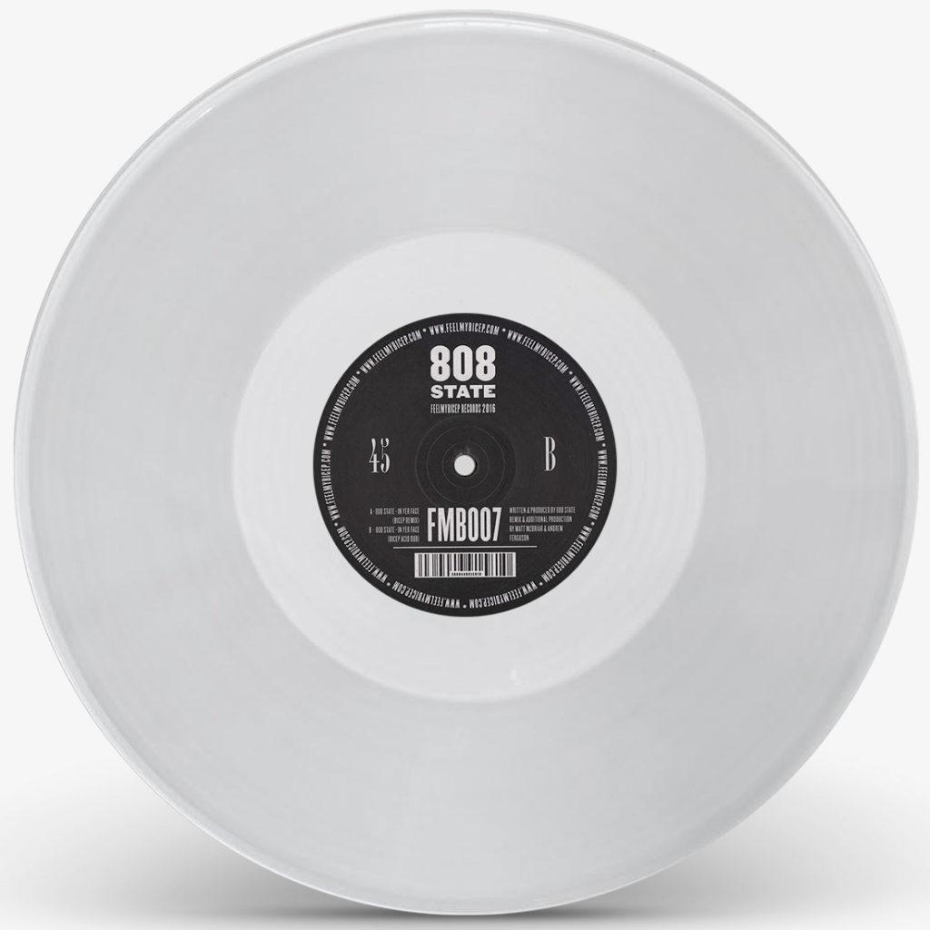 "808 State/IN YER FACE-BICEP RMX (CV) 12"""