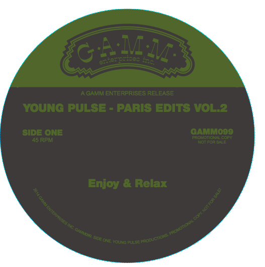 Young Pulse/PARIS EDITS VOL. 2 12""
