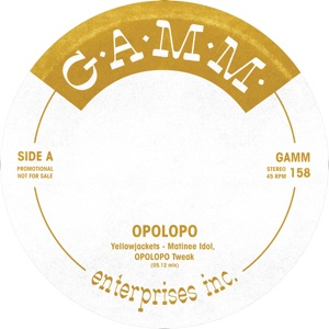 "Opolopo/G.A.M.M. TWEAKS: GAMM158 12"""