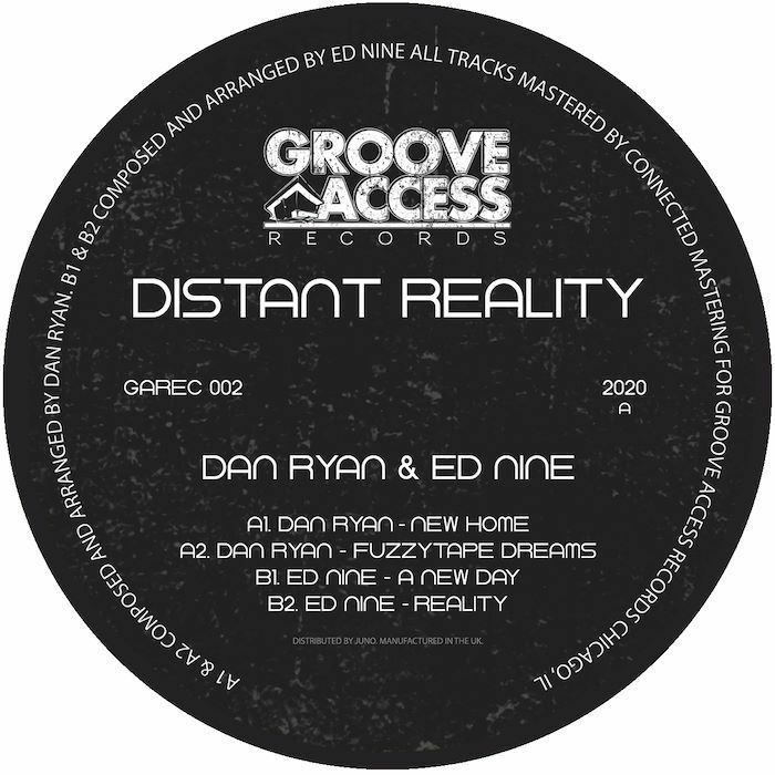 Dan Ryan & Ed Nine/DISTANT REALITY 12""
