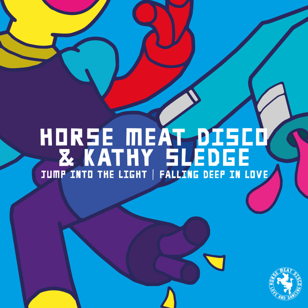 """Horse Meat Disco/JUMP INTO THE LIGHT 7"""""""