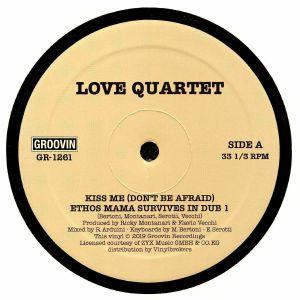 "Love Quartet/KISS ME 12"""