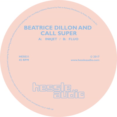 Beatrice Dillon & Call Super/INKJET 12""