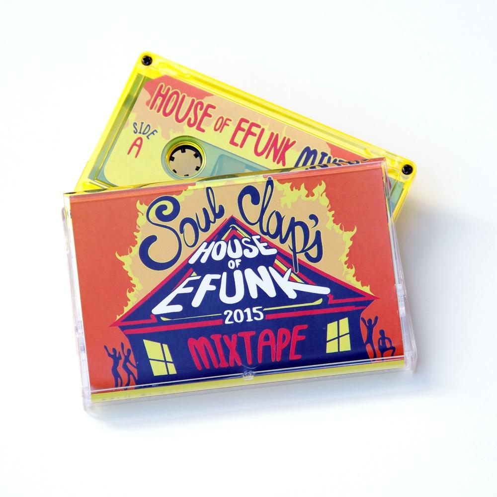 Soul Clap/HOUSE OF EFUNK MIXTAPE TAPE