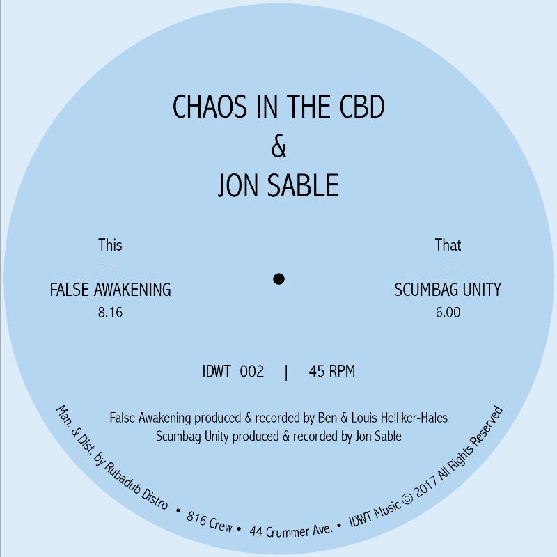 "Chaos In The CBD/FALSE AWAKENING 12"""