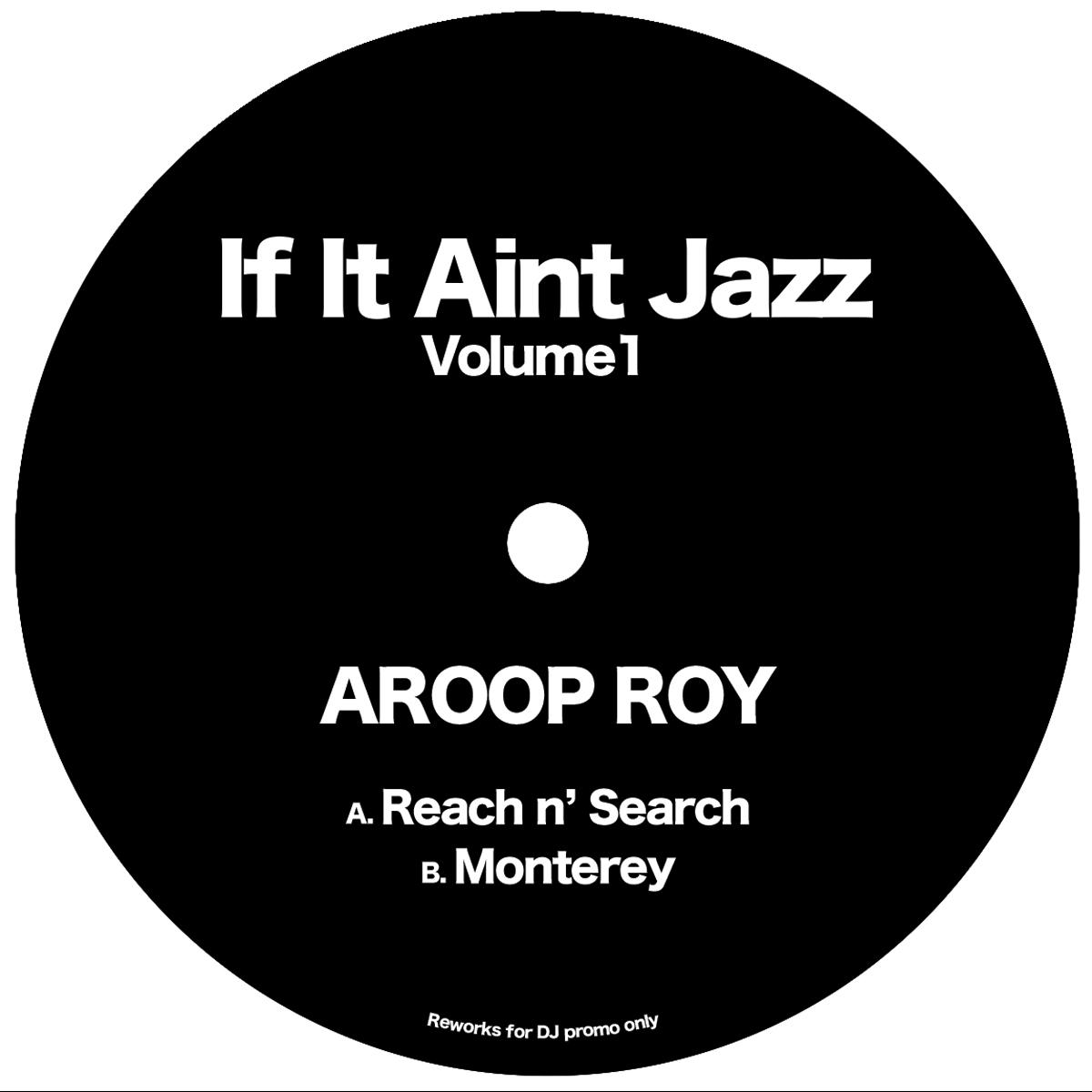 "Aroop Roy/IF IT AIN'T JAZZ VOL. 1 12"""