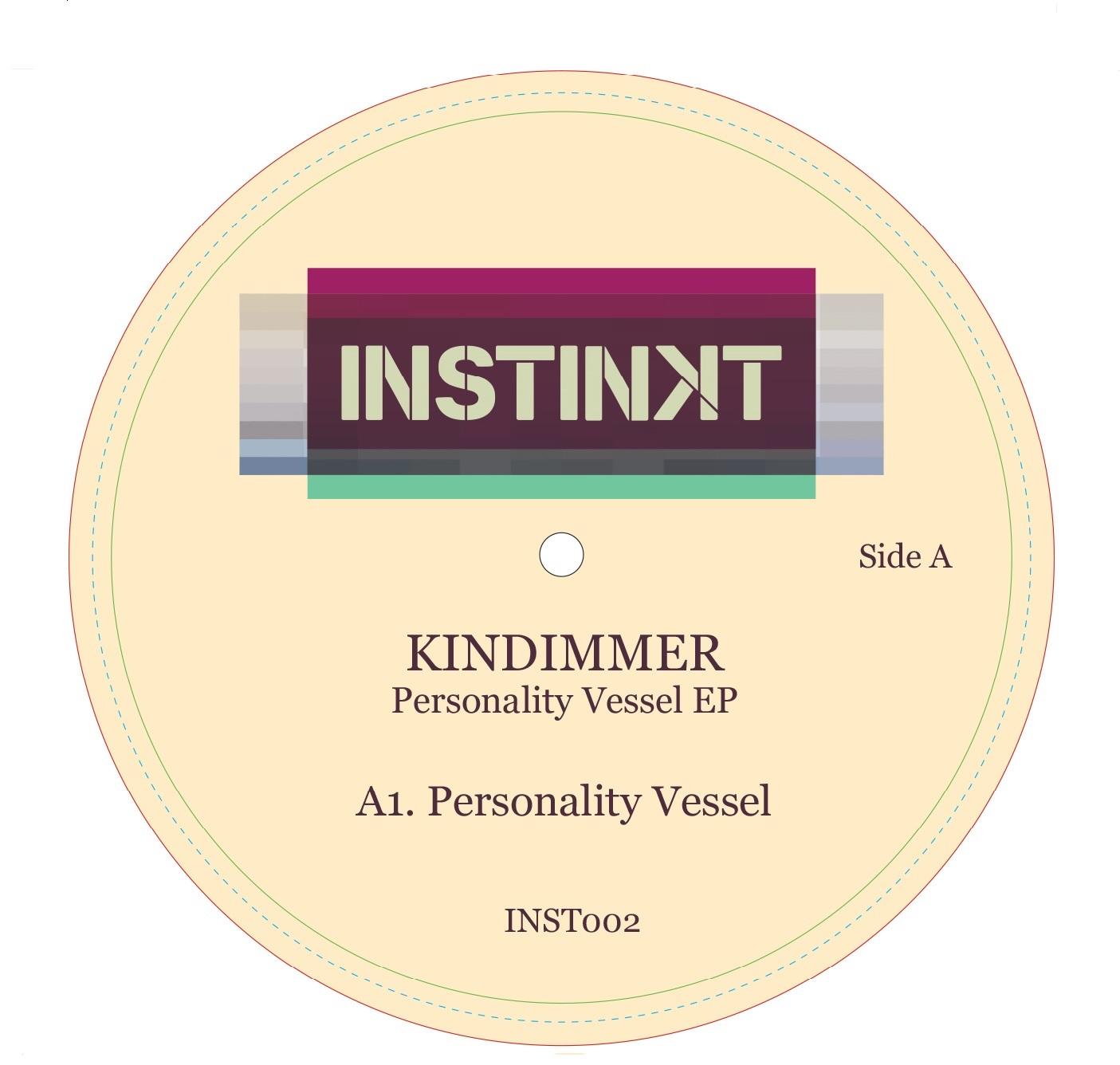 "Kindimmer/PERSONALITY VESSEL 12"""