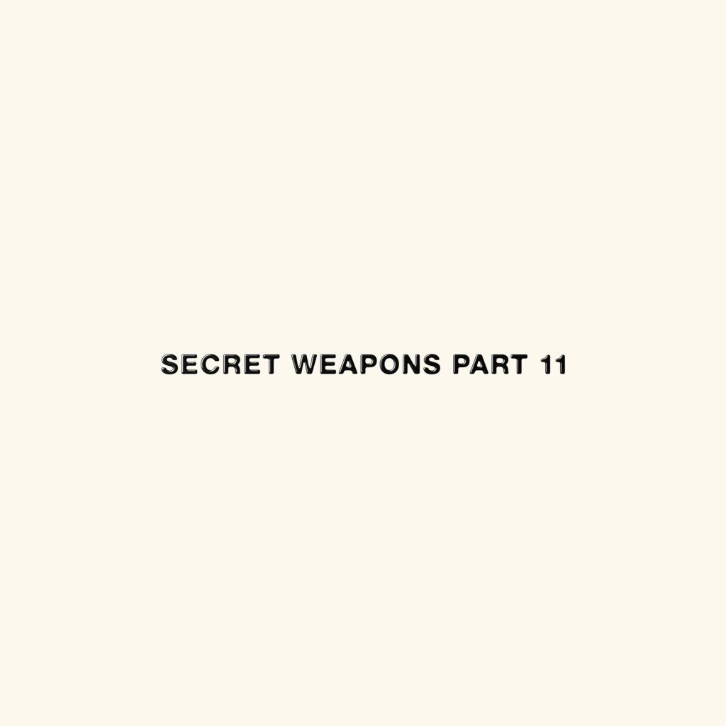 Various/SECRET WEAPONS PART 11 4LP