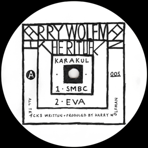 "Harry Wolfman/THE RITUAL 12"""