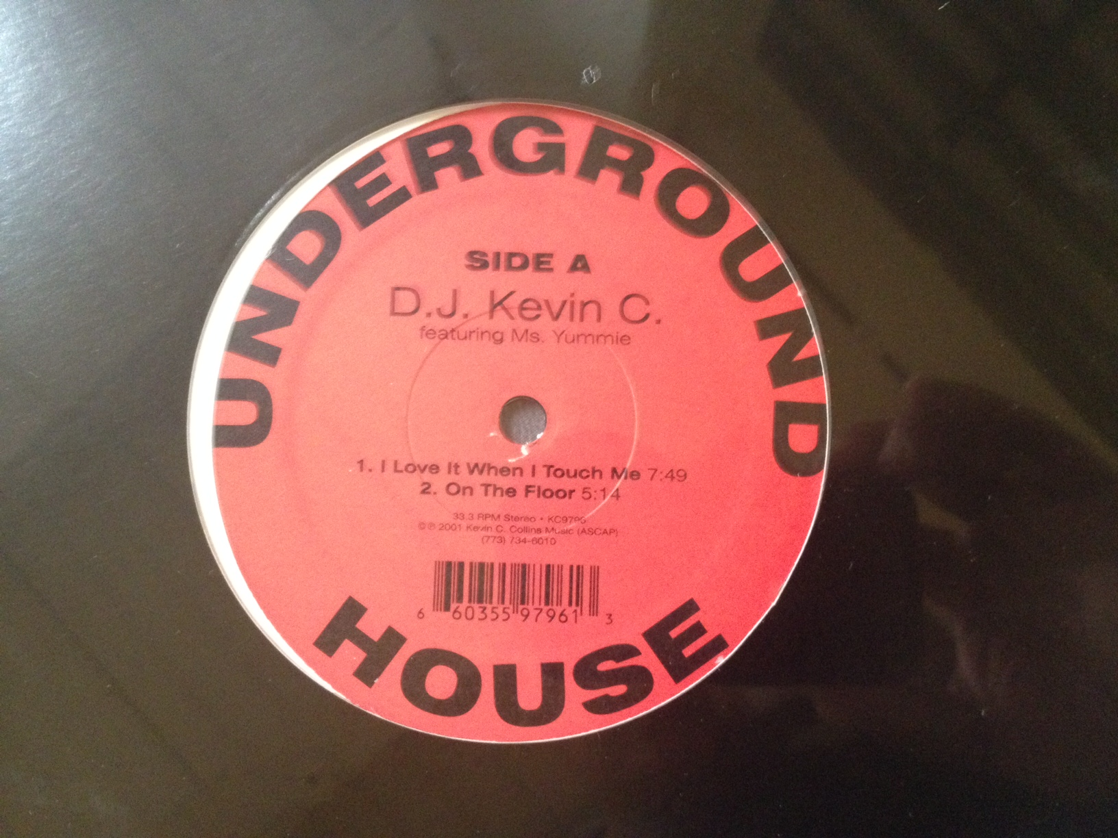 """DJ Kevin C./I LOVE IT WHEN I TOUCH...12"""""""