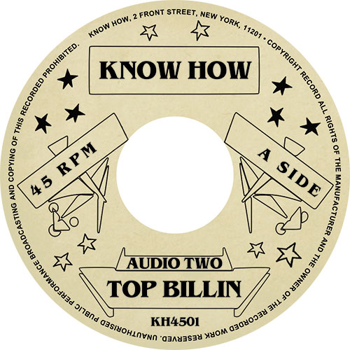 Audio Two/TOP BILLIN 7""