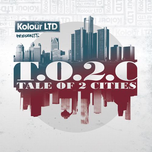 Various/KOLOUR LTD: TALE OF 2 CITIES 3LP